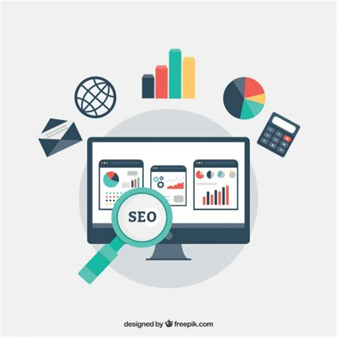 Seo My Website by Seo Vectors Photos And Psd Files Free