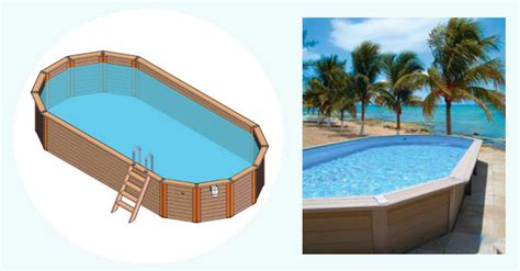 piscine allong 233 e piscine en bois composite