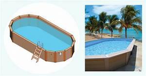 Piscine Hors Sol Composite : piscine allong e piscine en bois composite ~ Dode.kayakingforconservation.com Idées de Décoration