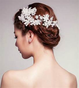 Buy Wholesale Elegant Flower Crystal Bead Bridal Hairwear