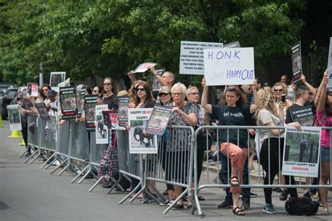 zoo happy elephant ny kevin schneider york protesters lonely demand release bronx nonhuman treat according wrong rights head project