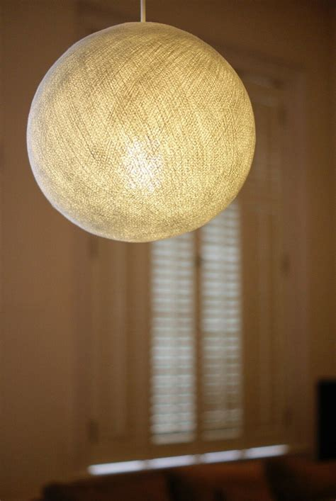 Cotton Lights by White Big Cotton Lshade Pendant Large Ceiling L