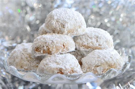 Mexican wedding cookies are also known as polvorones. Christmas Cookie Countdown and Mexican Wedding Cookie Recipe : Sifting Focus
