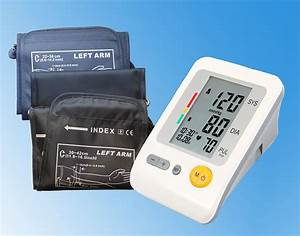 Blood Pressure Monitor With Large Arm Cuff 30