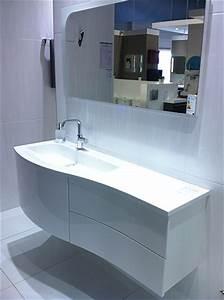 Meuble Salle De Bain Asymétrique : r novation de salle de bain paris 75 ile de france ~ Nature-et-papiers.com Idées de Décoration