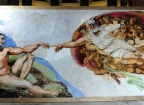 Qui A Peint La Fresque De La Chapelle Sixtine by Chapelle Sixtine La Fresque De Michel Ange Reconstitu 233 E
