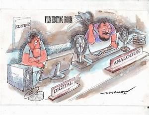 Analog and Digital By kar2nist | Media & Culture Cartoon ...