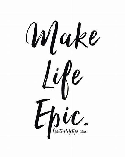 Quotes Word Epic Inspirational Words Short Motivational