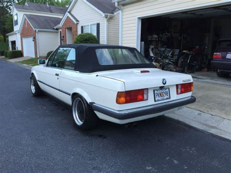 White Bmw For Sale by Bmw 3 Series Convertible 1988 Alpine White For Sale