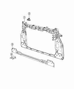 2017 Jeep Renegade Bracket  Impact Sensor  Right