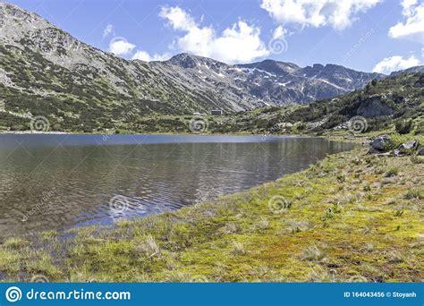 The Lower Fish Lake Ribni Ezera, Rila Mountain, Bulgaria Stock Photo - Image of kyustendil ...