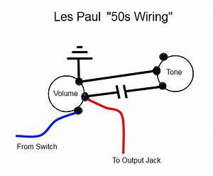 50s wiring v treble bleed telecaster guitar forum With les paul 50s wiring