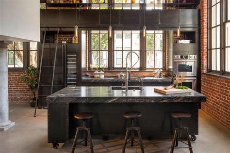 cuisine style industriel loft cuisine rétro loft recherche cuisine déco