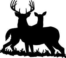 deer silhouette ebay
