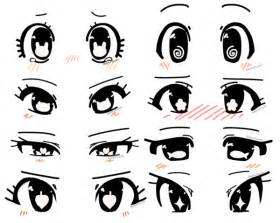 Anime Eye Shapes
