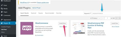 how to install woocommerce on ecommerce plugin
