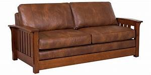 mission sofa bed voorhees craftsman mission oak furniture With mission sofa bed