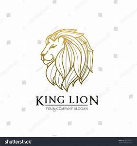 King Lion,Lion Logo,Tattoo,Vector Logo Template ...