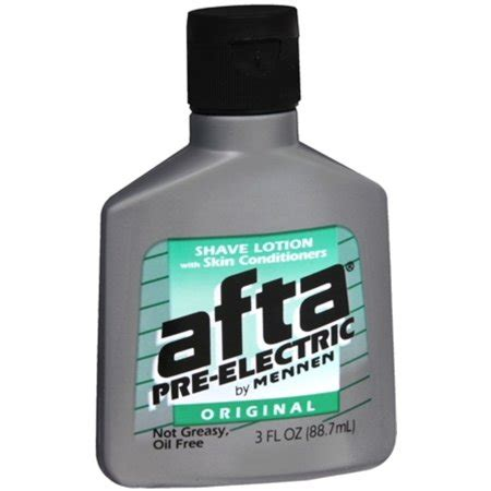 Afta PreElectric Shave Lotion Original 3 oz (Pack of 4