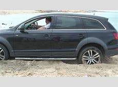 Audi Q7 beach offroad YouTube