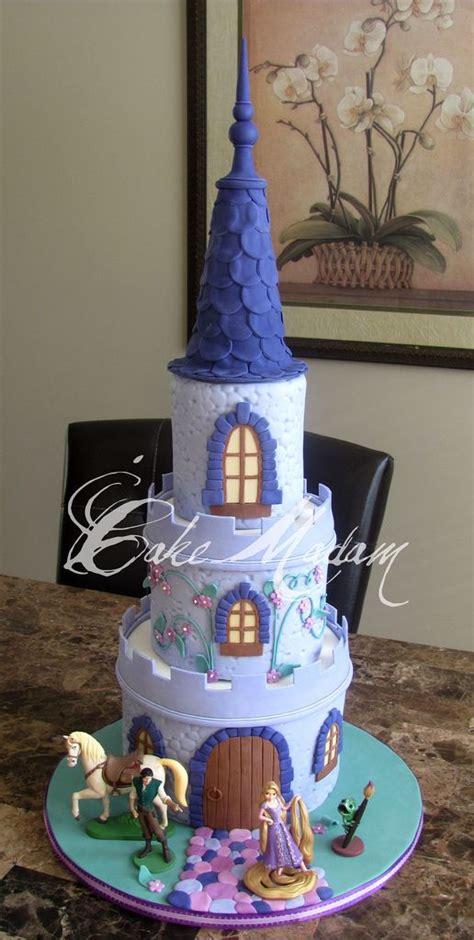 tangled cake      cake   biggest fan