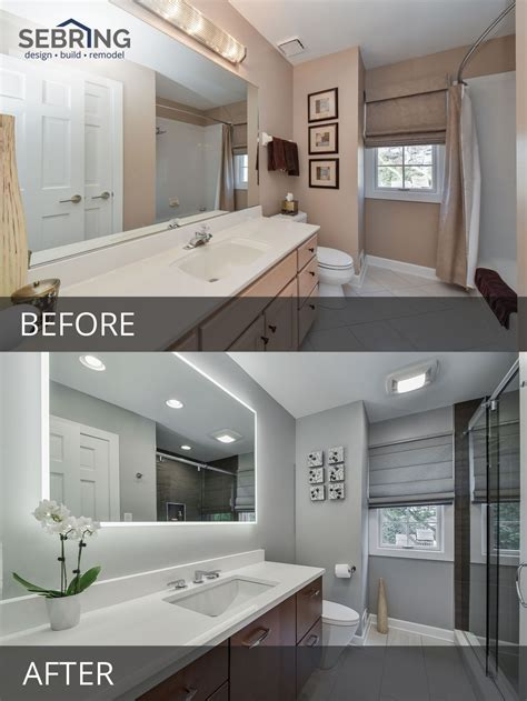 Bathroom Remodel Ideas Before And After by Doug Brenda S Master Bathroom Before After Pictures In