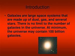 PPT - Galaxies PowerPoint Presentation - ID:6252296