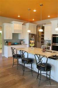 orange kitchen walls on pinterest burnt orange kitchen With kitchen cabinets lowes with orange wall art canvas