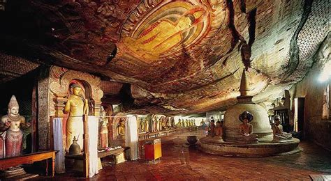 dambulla cave temple   close  dambulla