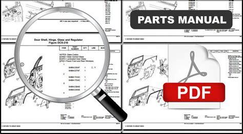 free car repair manuals 2008 dodge caravan interior lighting 1997 2008 dodge caravan and grand caravan service parts catalog part manual car truck manuals