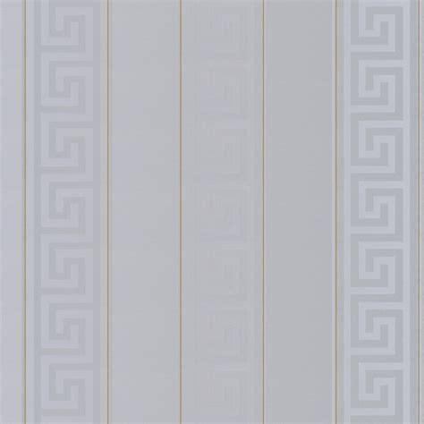 versace greek stripe wallpaper silver gold wallpaper