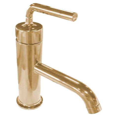 brushed gold bathroom faucet kohler k 14402 4a bgd brushed gold purist single