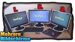 Zwei Monitore Verbinden : mehrere bildschirme an einem pc nutzen anschlie en ~ Jslefanu.com Haus und Dekorationen