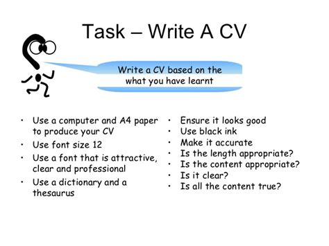 How To Write Your Cv Exles by Write Cv Paper