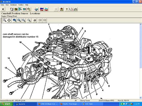 Wiring Harnes For S10 L Engine by 1997 Chevy S10 4 3 Engine Diagram Downloaddescargar