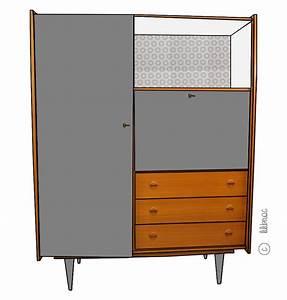 relooker une armoire relooker armoire ancienne relooker With vernir un meuble deja vernis