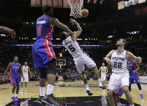 Streaking Pistons shock Spurs   Inquirer Sports