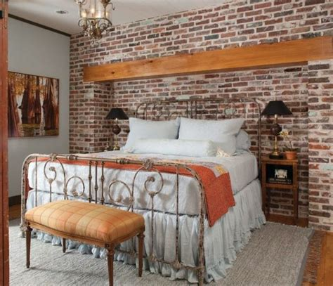 brick wall   charming decor feature   room