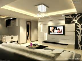 modern living room tv background wall decoration design effect picture living room