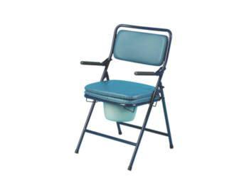 chaise percée pliante chaise percee deluxe pliante