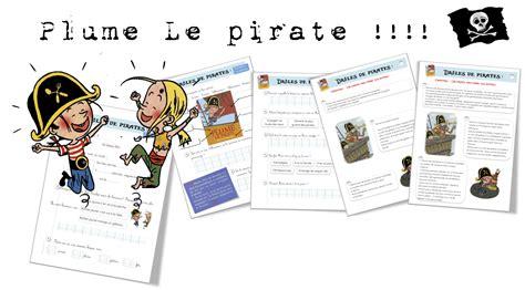 lecture suivie plume le pirate bout de gomme
