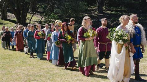 And That Is Indeed A Viking Wedding, In Katoomba  The Courier. Coco Wedding Engagement Rings. Star Rings. Raspberry Wedding Rings. 3 Person Rings. Radiant Cut Engagement Rings. Lightning Wedding Rings. Round Raised Wedding Rings. Mint Engagement Rings