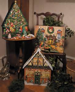 Wooden Advent Calendar To Decorate by Christmas Tree Advent Calendar Byers Choice