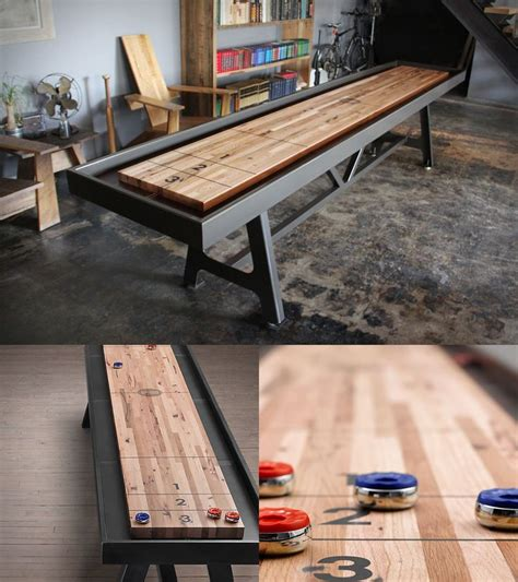 making a shuffleboard table 143 best shop projects game boards images on pinterest