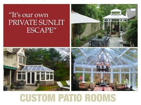 Custom Patio Rooms by Custom Patio Rooms Home Services 120 Purity Rd