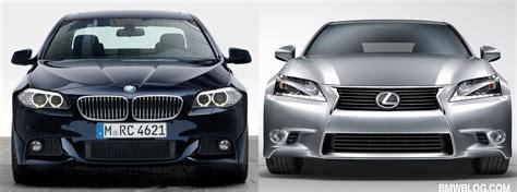 Photo Comparison: Bmw 5 Series Vs. 2013 Lexus Gs 350