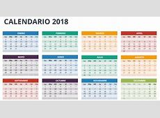 calendario 2018 NotiActualcom