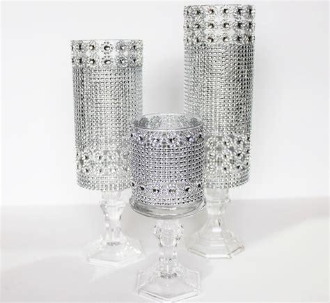 3 Set Candle Glass Holder Wedding Centerpieces Decor