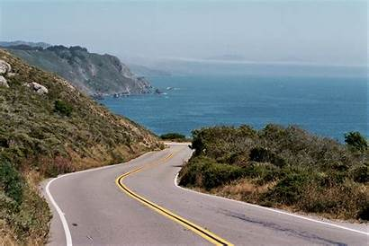 Highway California Pch Route Shoreline State Coast