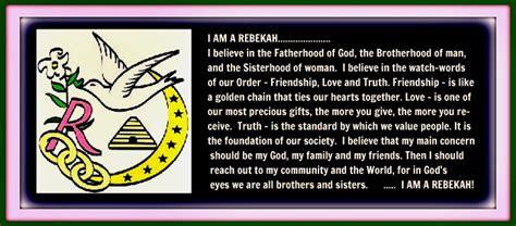 Rebekahs - Independent Order of Odd Fellows
